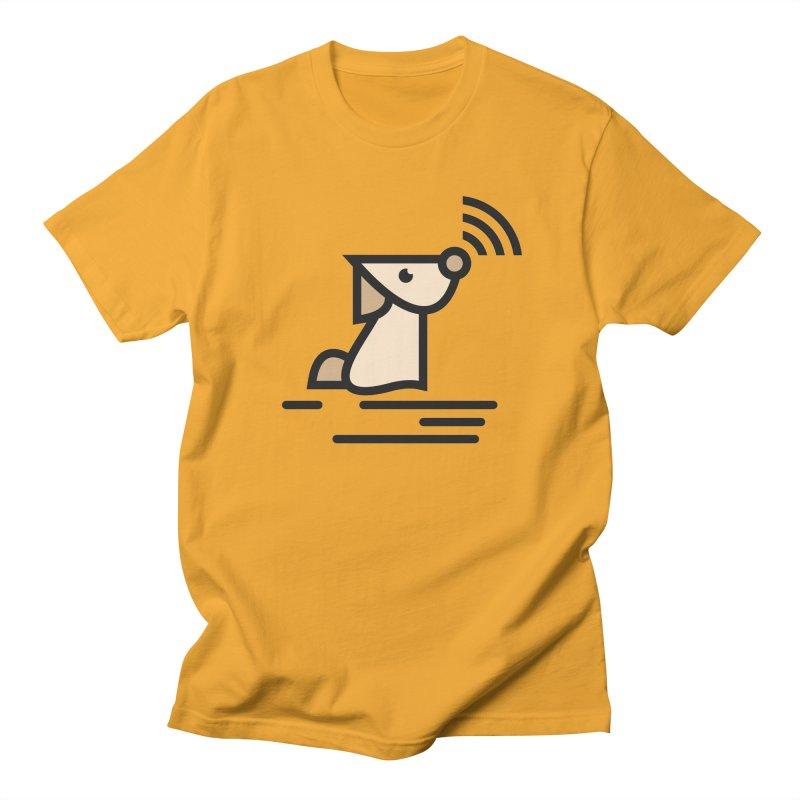 WIFI DOGI Men's T-Shirt by EHELPENT