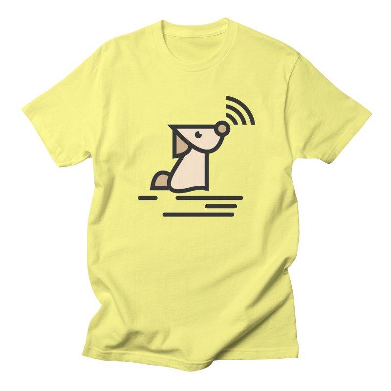 WIFI DOGI Women's Unisex T-Shirt by EHELPENT