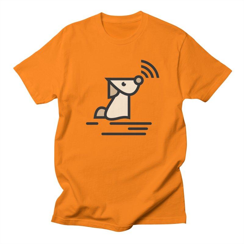WIFI DOGI Men's Regular T-Shirt by EHELPENT