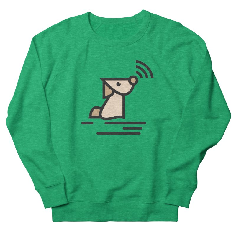 WIFI DOGI Men's French Terry Sweatshirt by EHELPENT