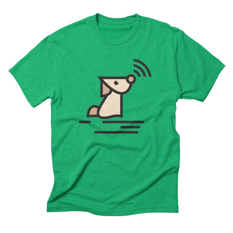 WIFI DOGI Men's Triblend T-Shirt by EHELPENT