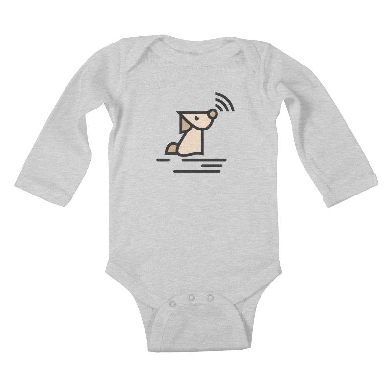 WIFI DOGI Kids Baby Longsleeve Bodysuit by EHELPENT
