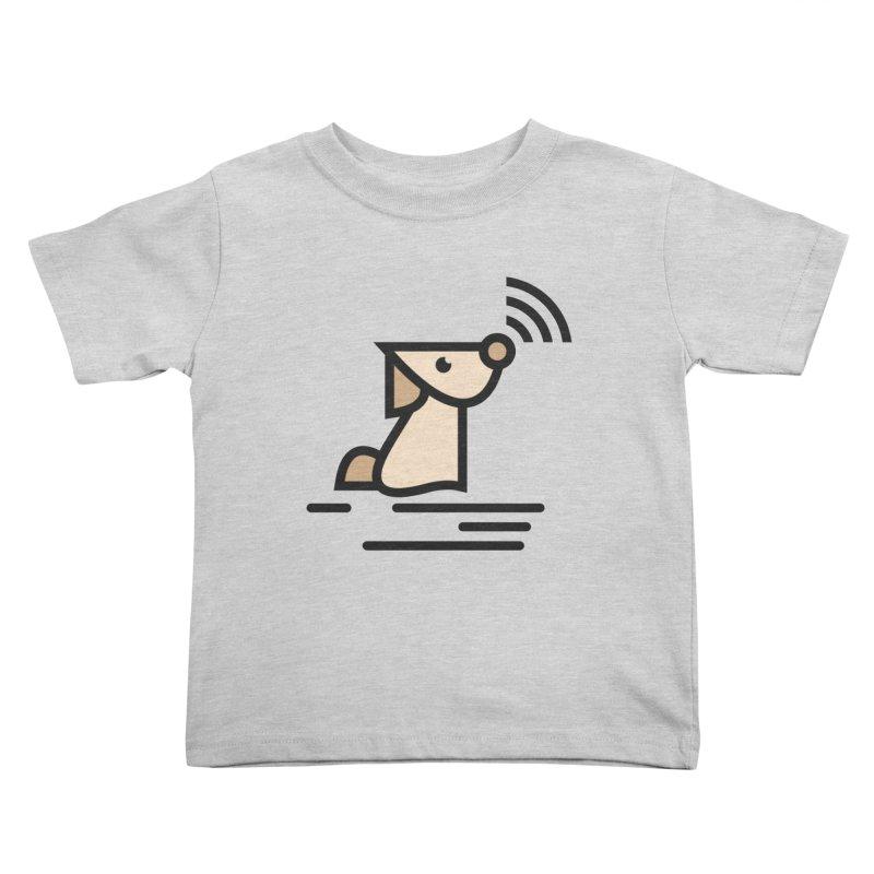 WIFI DOGI Kids Toddler T-Shirt by EHELPENT