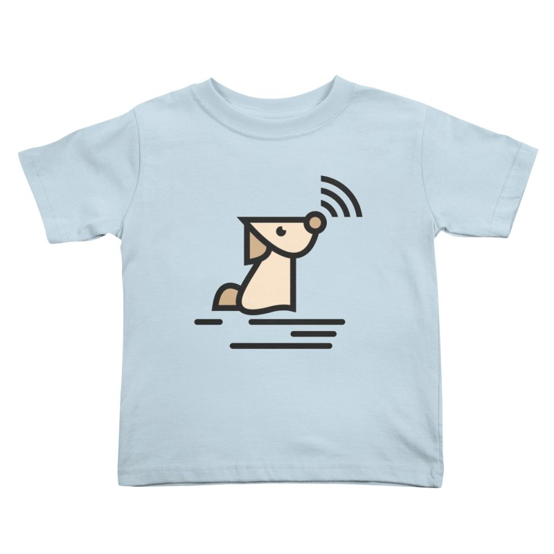 WIFI DOGI Kids Toddler T-Shirt by EHELPENT
