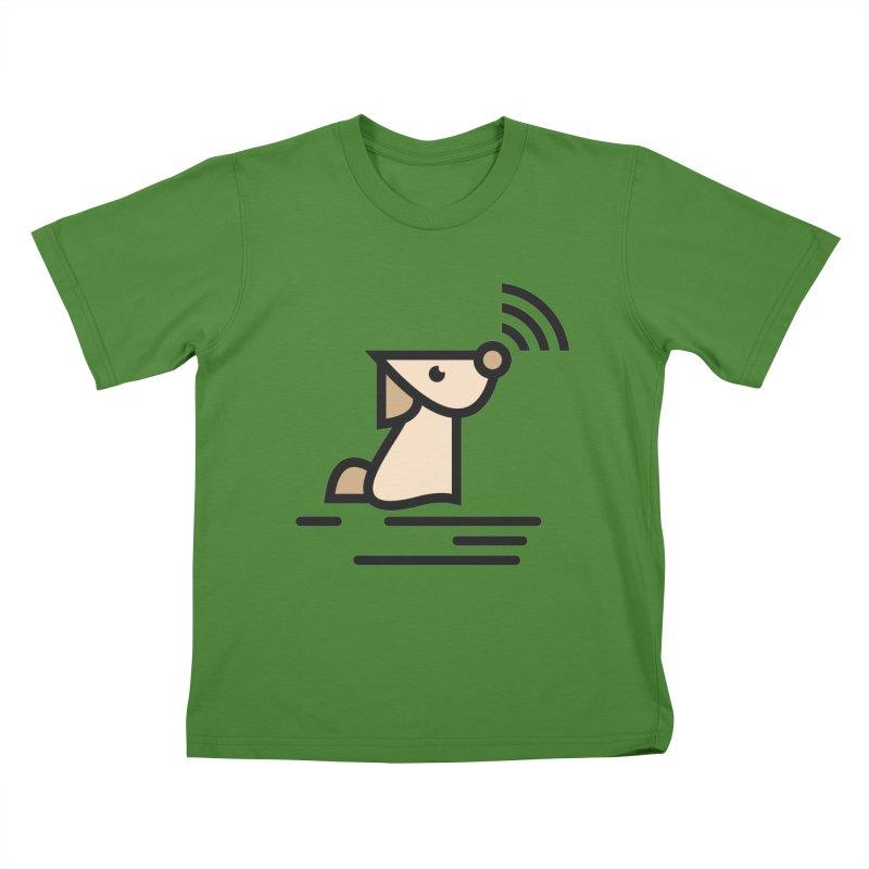 WIFI DOGI Kids T-Shirt by EHELPENT