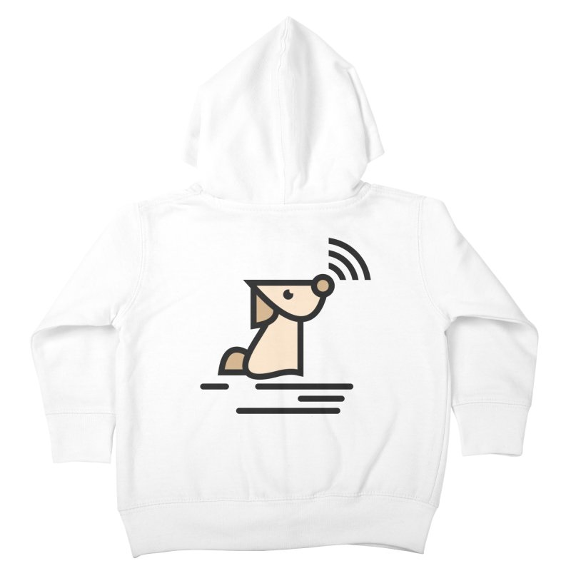 WIFI DOGI Kids Toddler Zip-Up Hoody by EHELPENT