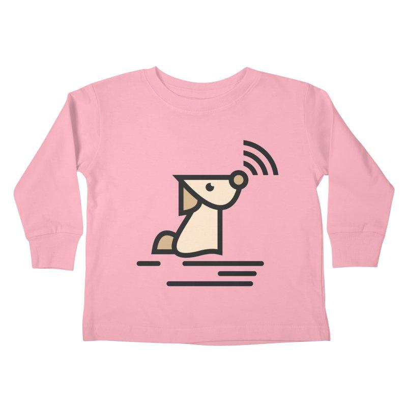 WIFI DOGI Kids Toddler Longsleeve T-Shirt by EHELPENT