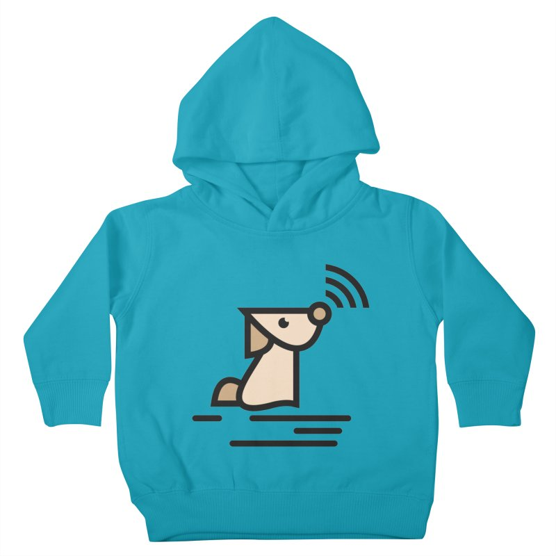WIFI DOGI Kids Toddler Pullover Hoody by EHELPENT