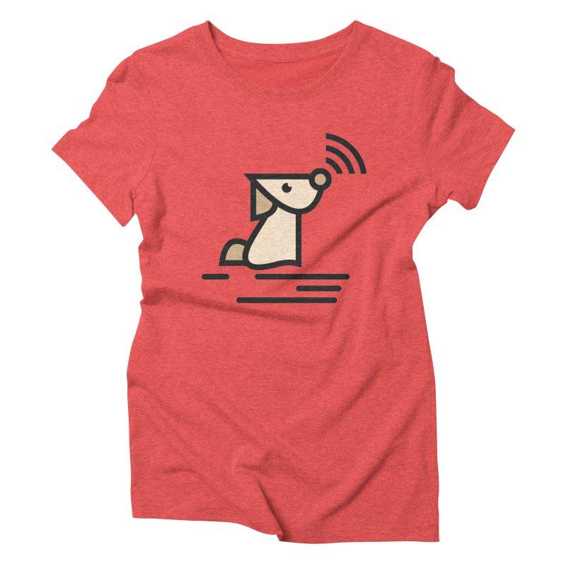 WIFI DOGI Women's Triblend T-Shirt by EHELPENT