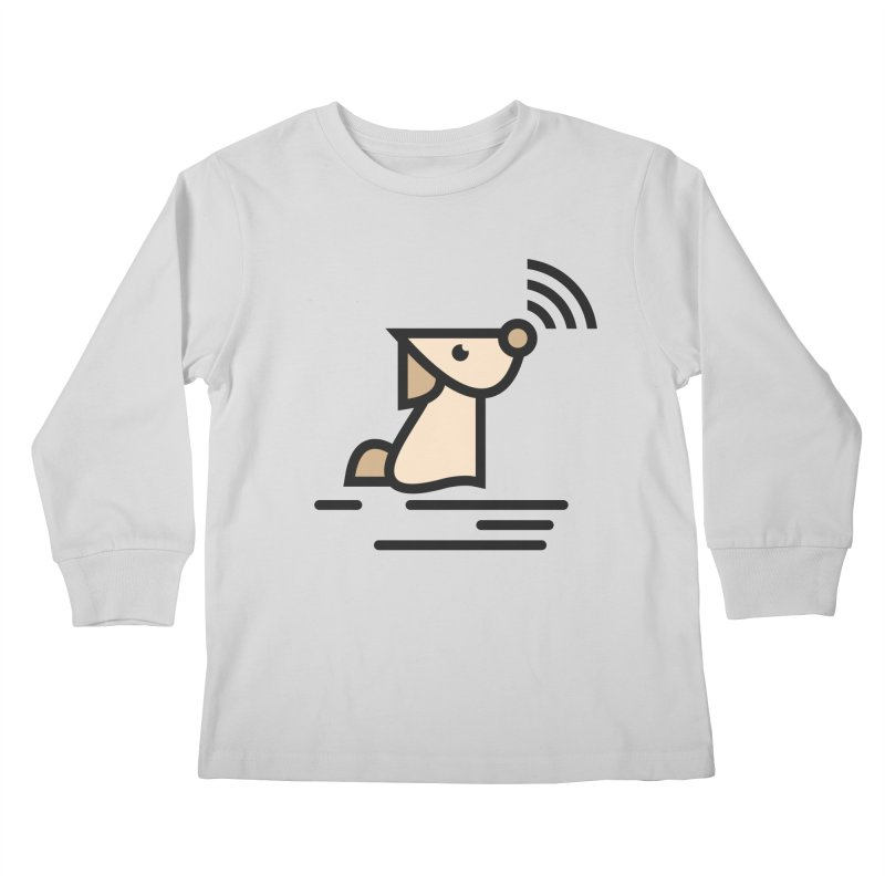 WIFI DOGI Kids Longsleeve T-Shirt by EHELPENT