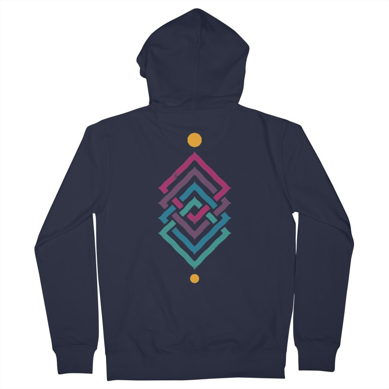 OUTSIDE THE LINK Women's Zip-Up Hoody by EHELPENT