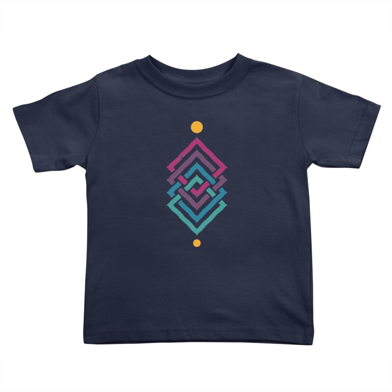 OUTSIDE THE LINK Kids Toddler T-Shirt by EHELPENT