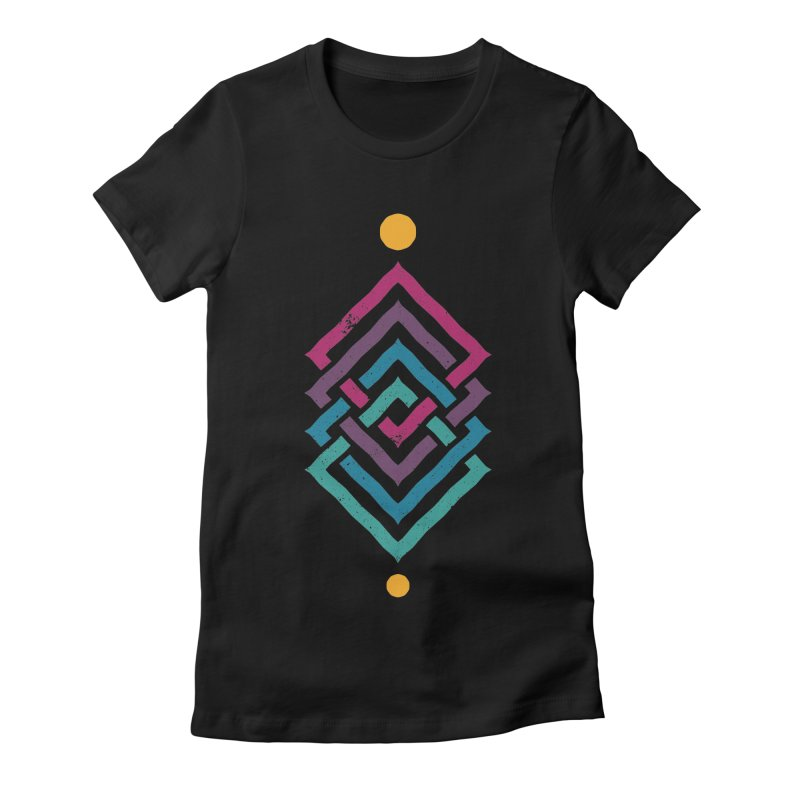 OUTSIDE THE LINK Women's T-Shirt by EHELPENT
