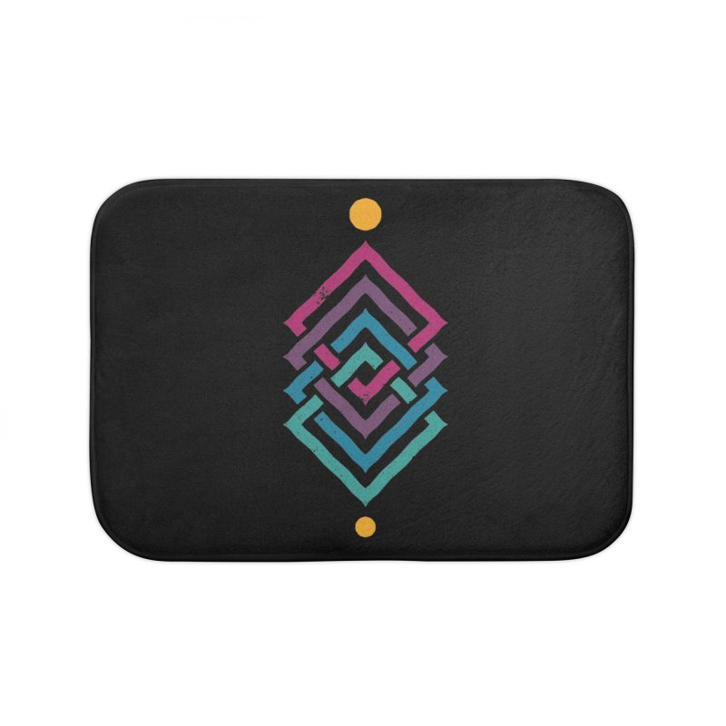 OUTSIDE THE LINK Home Bath Mat by EHELPENT