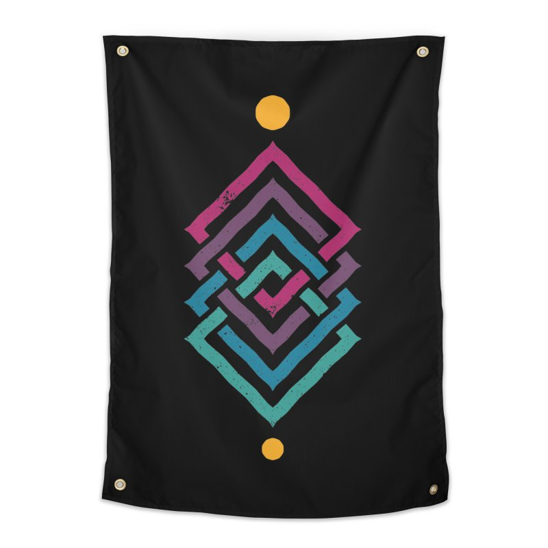 OUTSIDE THE LINK Home Tapestry by EHELPENT
