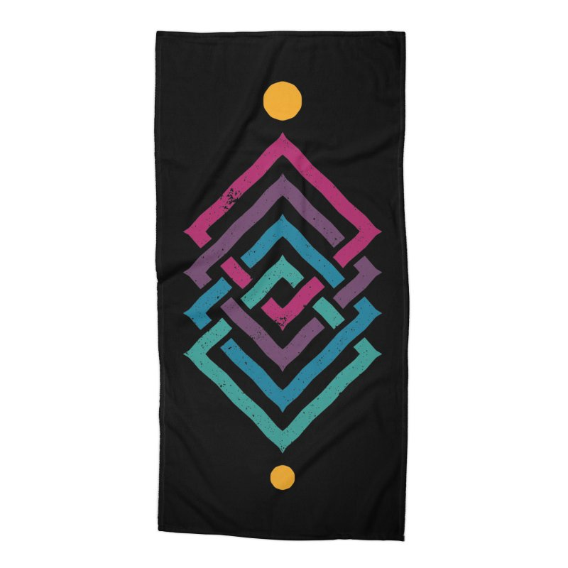 OUTSIDE THE LINK Accessories Beach Towel by EHELPENT