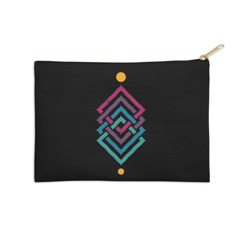 OUTSIDE THE LINK Accessories Zip Pouch by EHELPENT