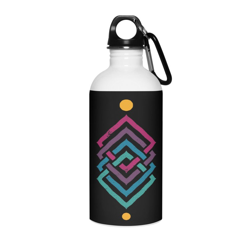 OUTSIDE THE LINK Accessories Water Bottle by EHELPENT