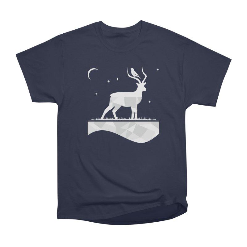ASSYMETRY Men's Heavyweight T-Shirt by EHELPENT