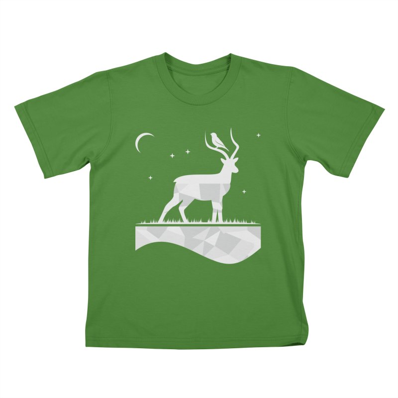 ASSYMETRY Kids T-Shirt by EHELPENT