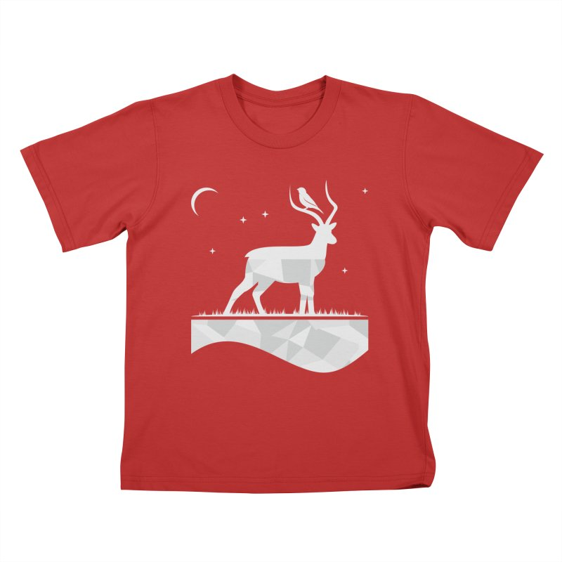 ASSYMETRY Kids T-Shirt by EHELPENT