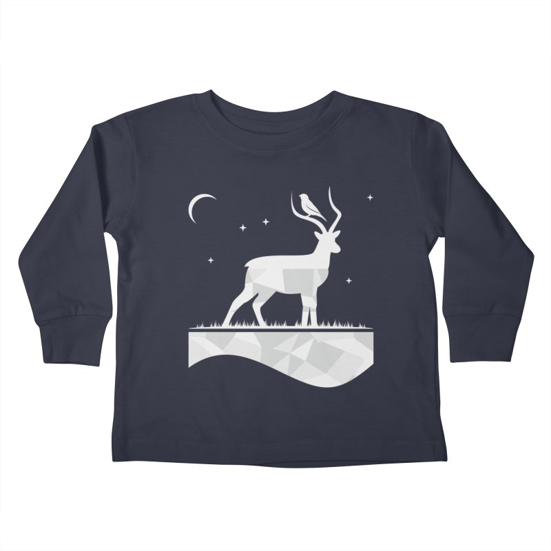 ASSYMETRY Kids Toddler Longsleeve T-Shirt by EHELPENT