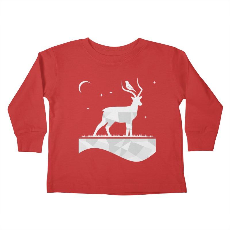 ASSYMETRY Kids Toddler Longsleeve T-Shirt by EHELPENT