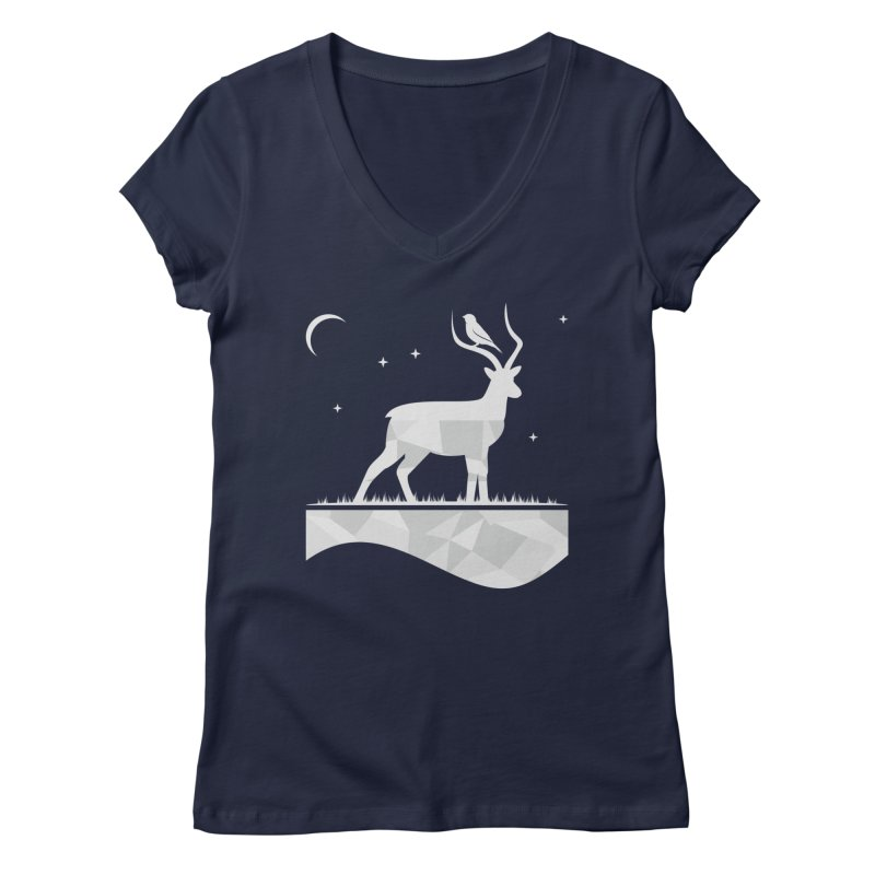 ASSYMETRY Women's V-Neck by EHELPENT