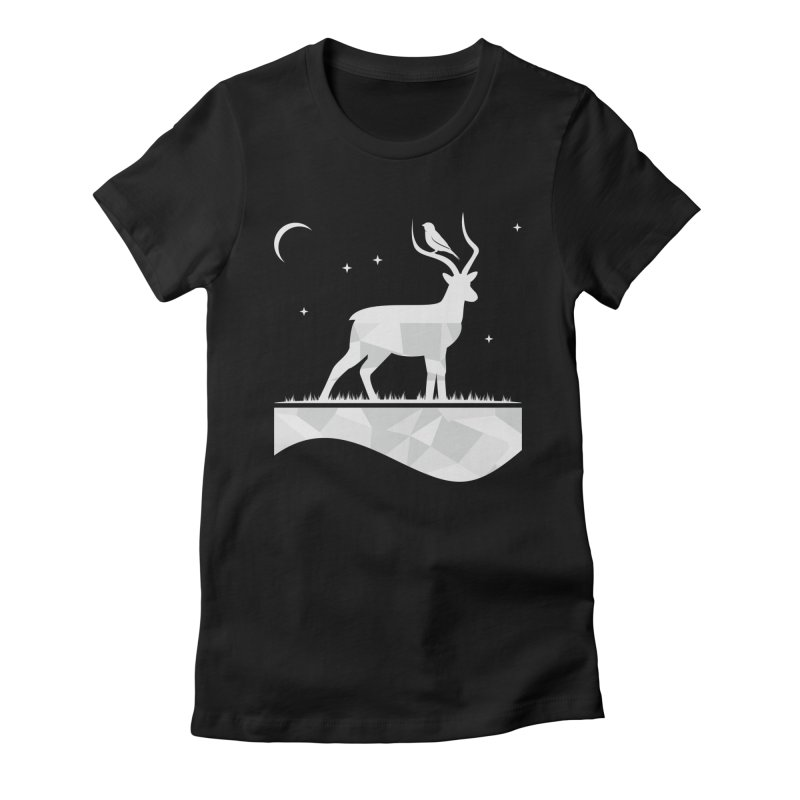 ASSYMETRY Women's Fitted T-Shirt by EHELPENT