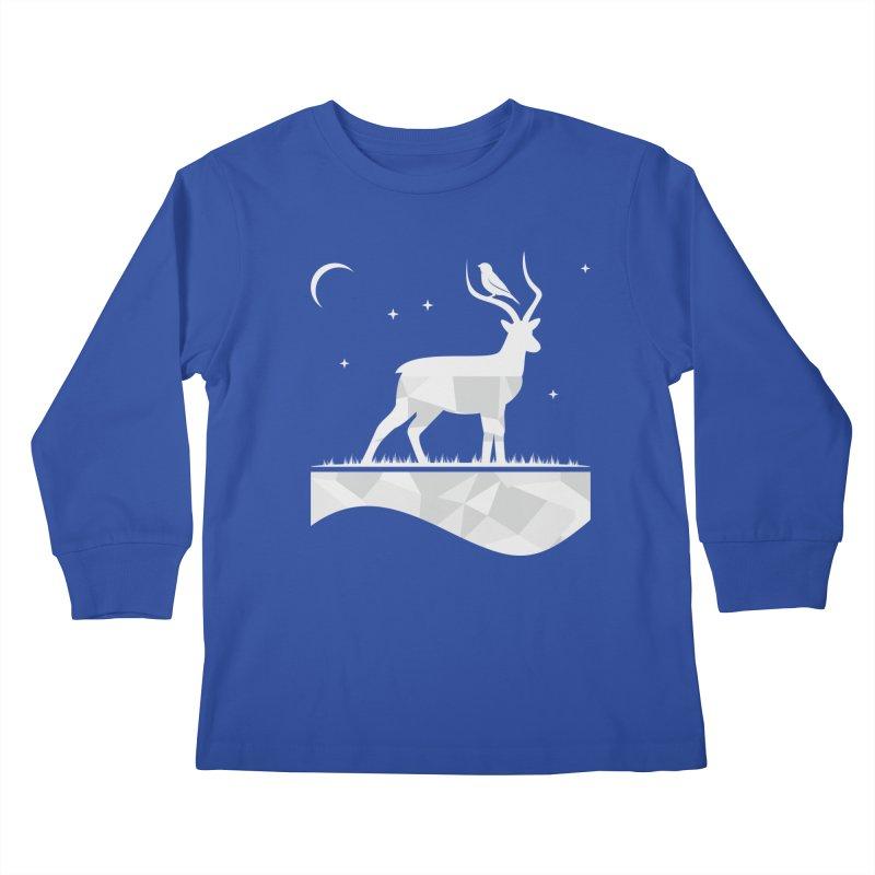 ASSYMETRY Kids Longsleeve T-Shirt by EHELPENT