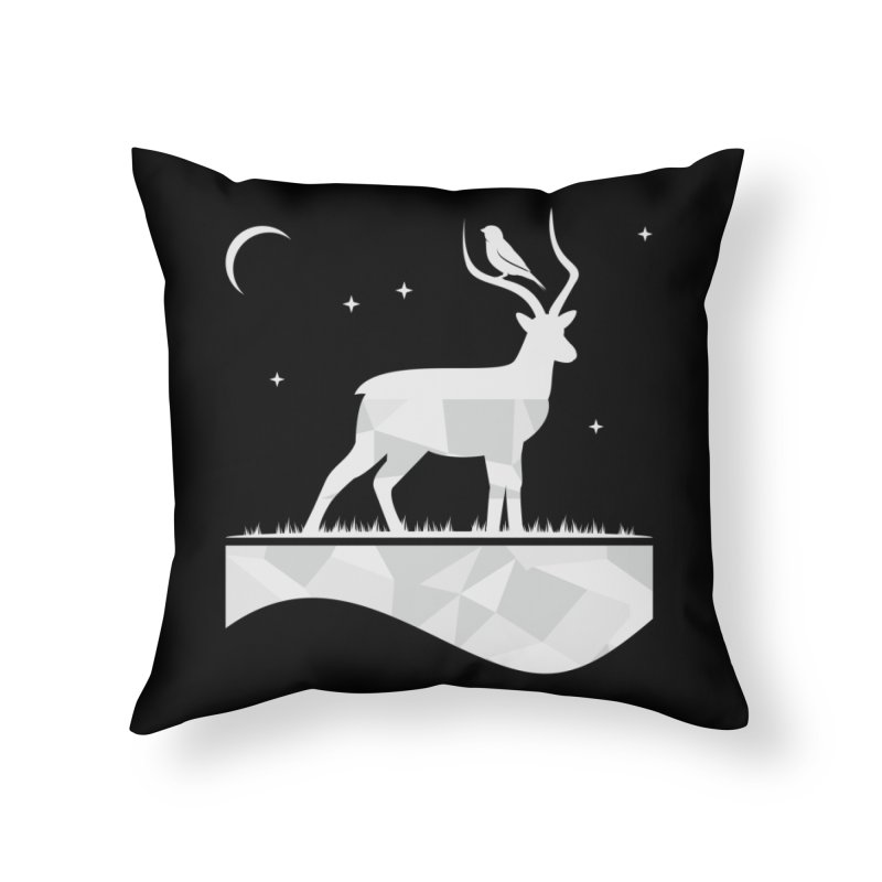 ASSYMETRY Home Throw Pillow by EHELPENT