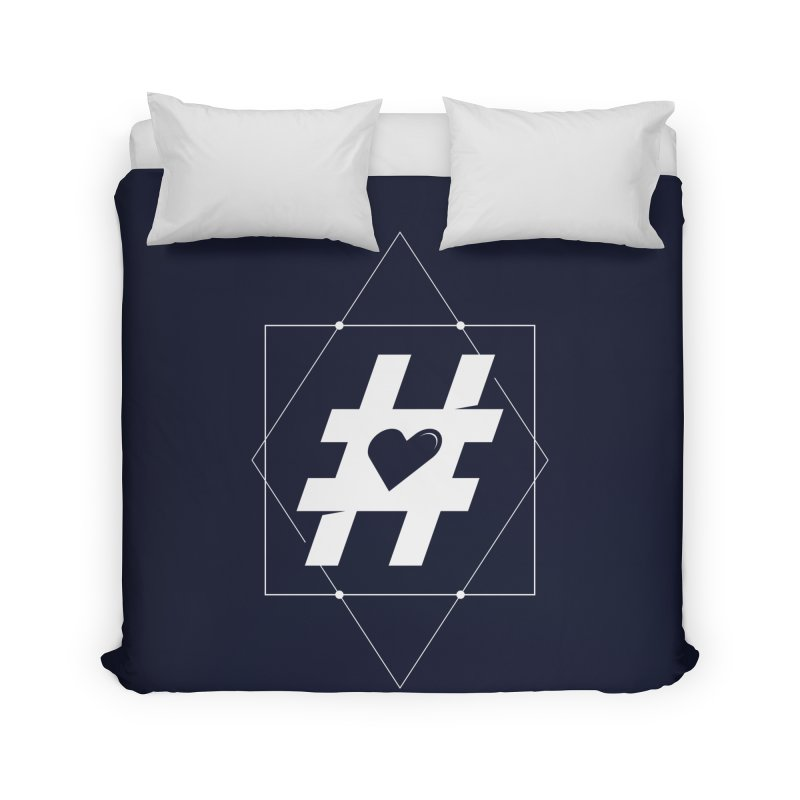 TAG MY HEART Home Duvet by EHELPENT