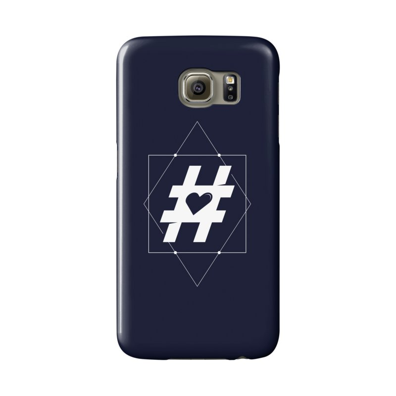 TAG MY HEART Accessories Phone Case by EHELPENT