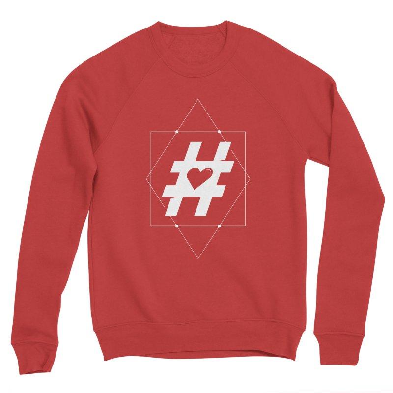 TAG MY HEART Men's Sweatshirt by EHELPENT