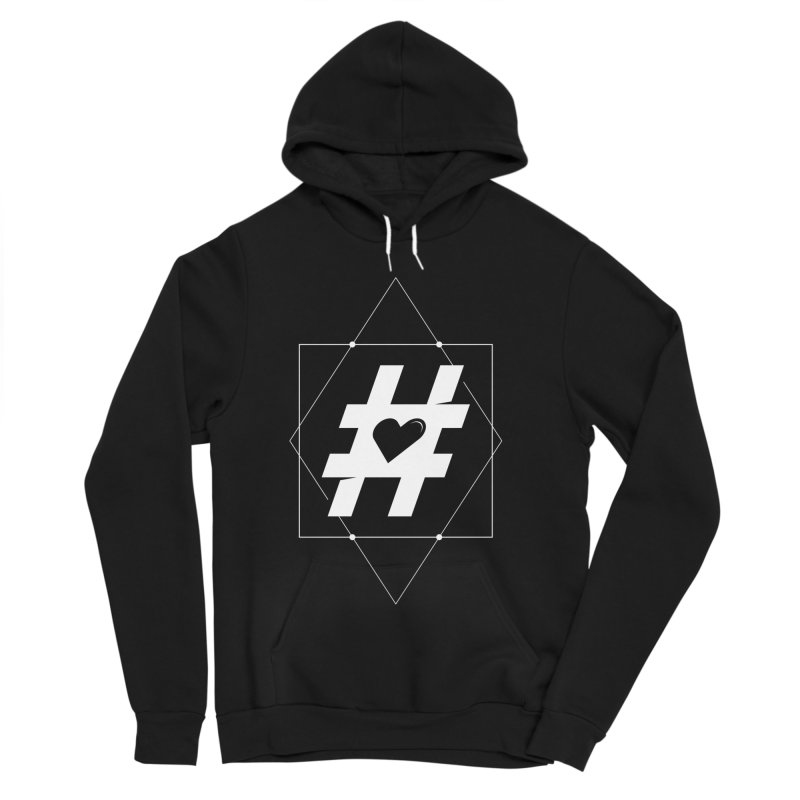 TAG MY HEART Women's Pullover Hoody by EHELPENT