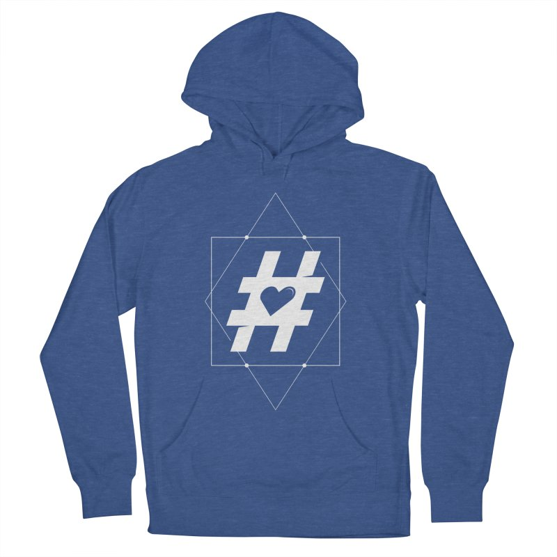 TAG MY HEART Men's Pullover Hoody by EHELPENT