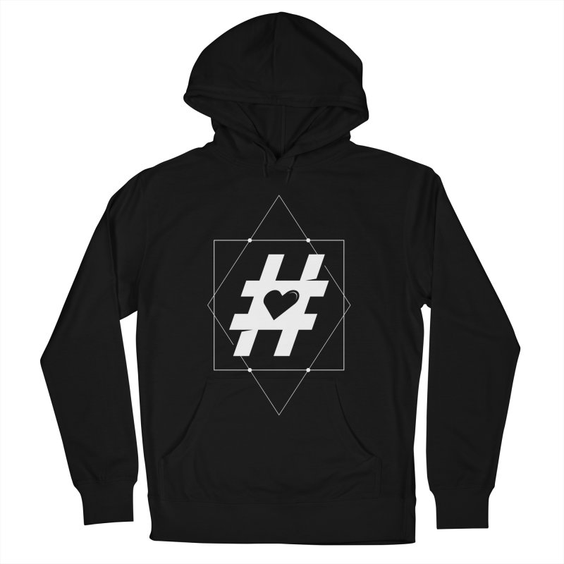 TAG MY HEART Men's French Terry Pullover Hoody by EHELPENT