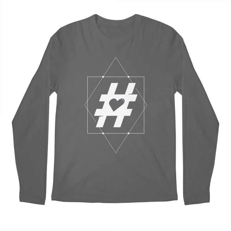 TAG MY HEART Men's Longsleeve T-Shirt by EHELPENT