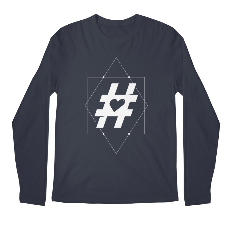 TAG MY HEART Men's Regular Longsleeve T-Shirt by EHELPENT