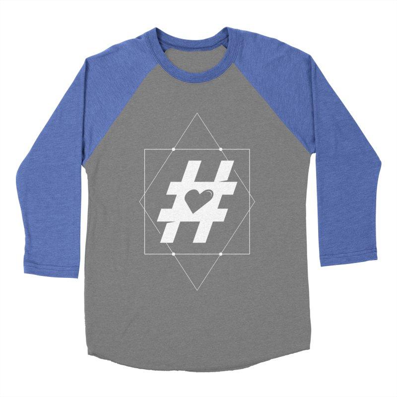 TAG MY HEART Women's Baseball Triblend T-Shirt by EHELPENT