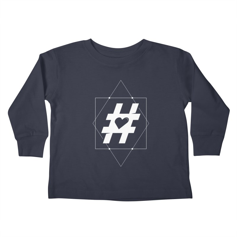 TAG MY HEART Kids Toddler Longsleeve T-Shirt by EHELPENT