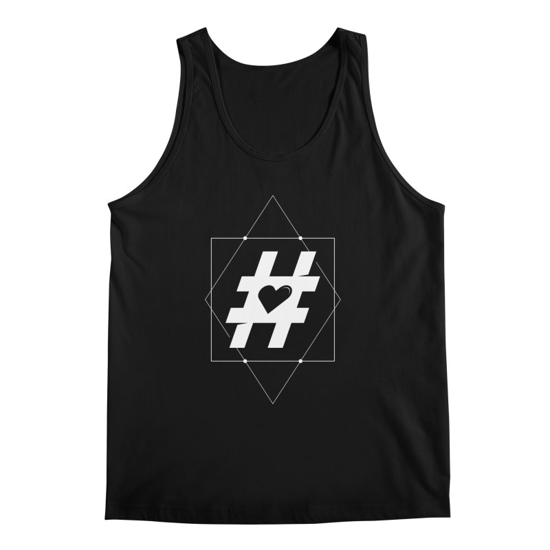 TAG MY HEART Men's Tank by EHELPENT