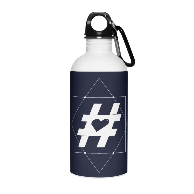 TAG MY HEART Accessories Water Bottle by EHELPENT