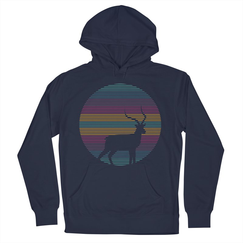 THE HAPPY IMPALA Men's Pullover Hoody by EHELPENT