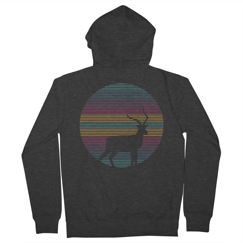 THE HAPPY IMPALA Men's French Terry Zip-Up Hoody by EHELPENT