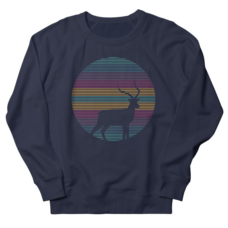 THE HAPPY IMPALA Men's French Terry Sweatshirt by EHELPENT