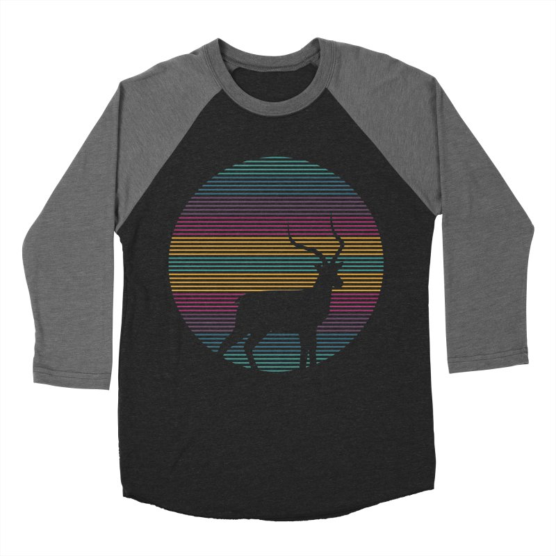 THE HAPPY IMPALA Men's Baseball Triblend T-Shirt by EHELPENT