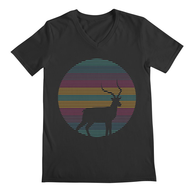 THE HAPPY IMPALA Men's V-Neck by EHELPENT