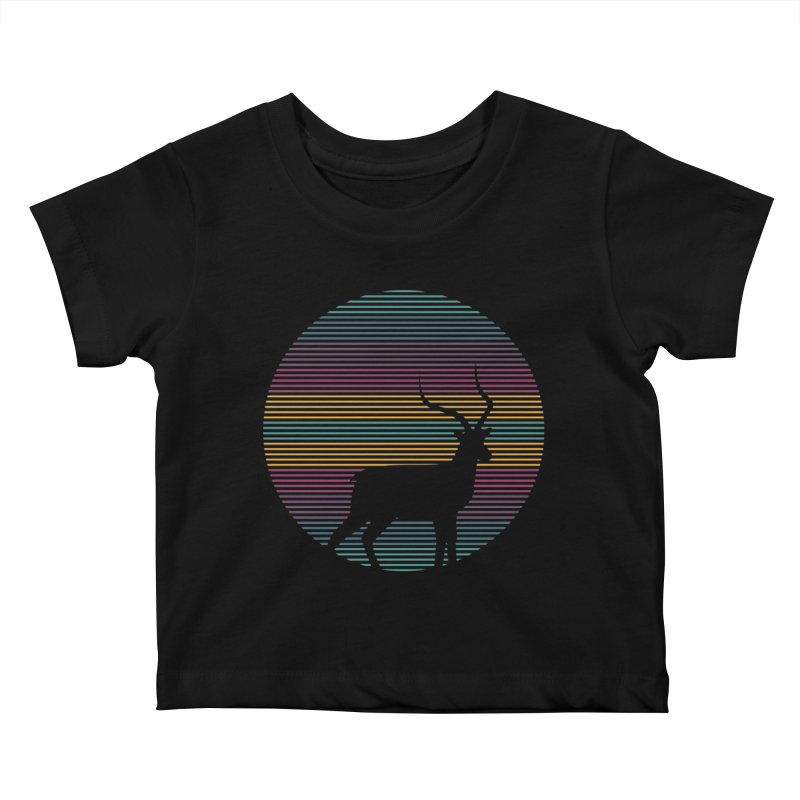 THE HAPPY IMPALA Kids Baby T-Shirt by EHELPENT