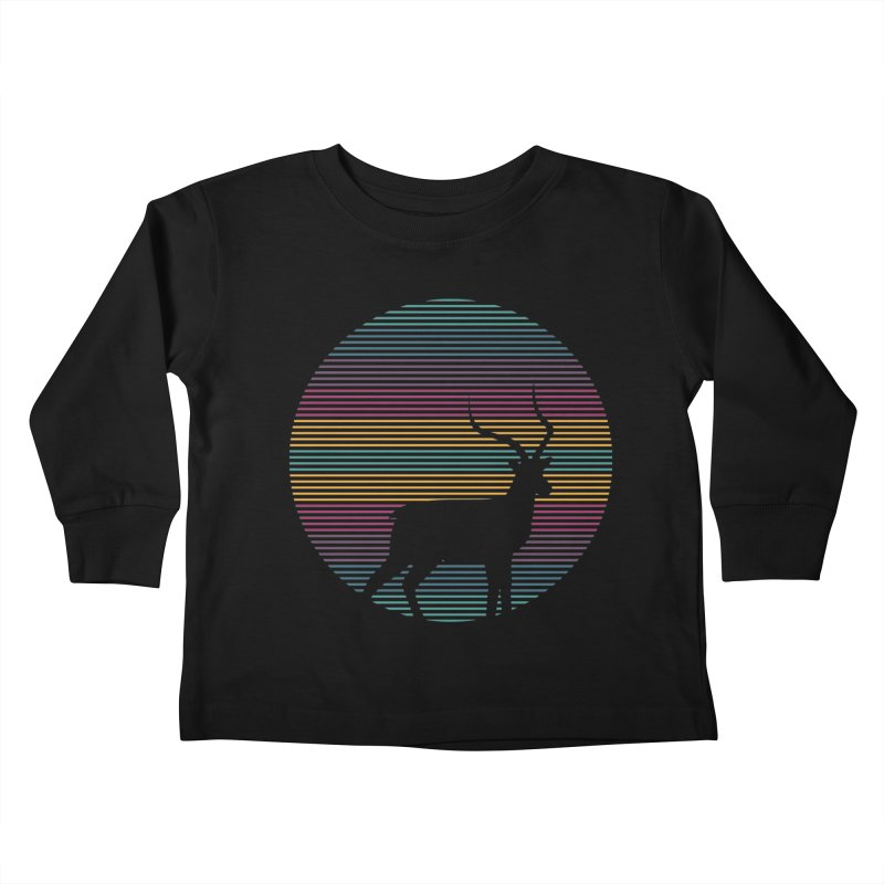 THE HAPPY IMPALA Kids Toddler Longsleeve T-Shirt by EHELPENT